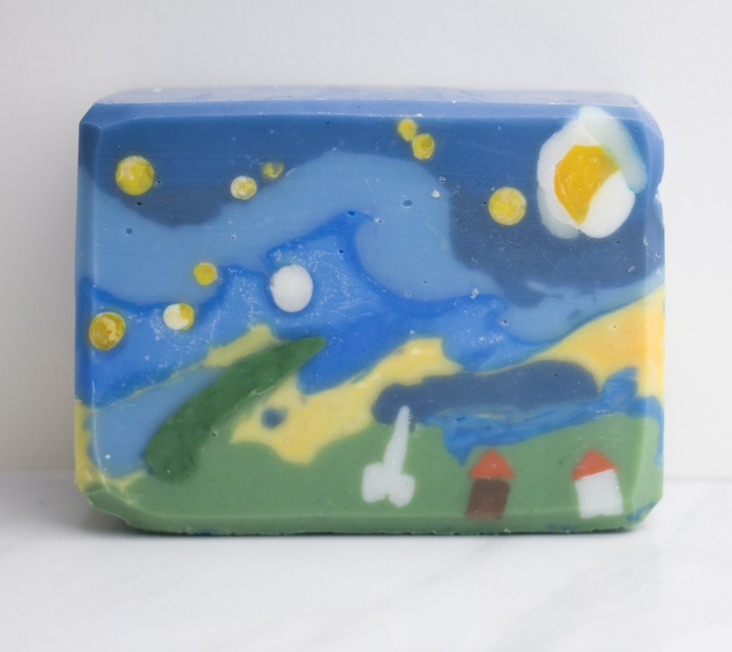 Landscape similar to starry night in Soap