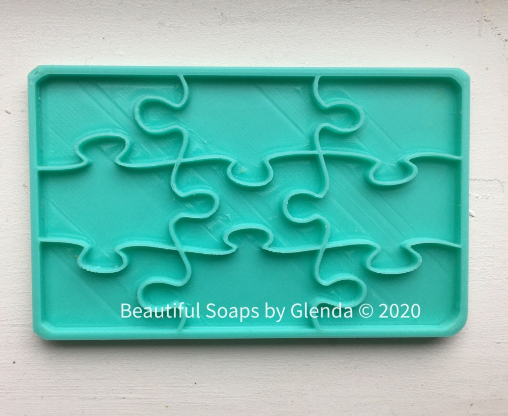 jigsaw puzzle stamp